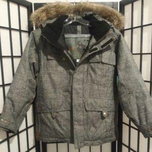 Obermeyer Vintage Winter Jacket Fur Hood Juniors10